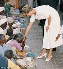 Princess Diana, reaching out to the Untouchables in India