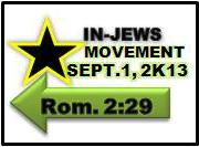 Emblem of: Our INJew Movement September1, 2013